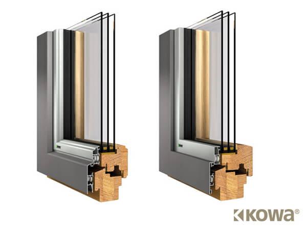 Fenster aus holz punkten mit guten d mmeigenschaften for Holz aluminium fenster