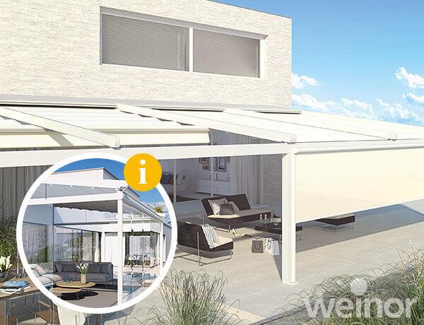 Hervorragend Pergola-Markise - die Alternative zum Terrassendach. JT19