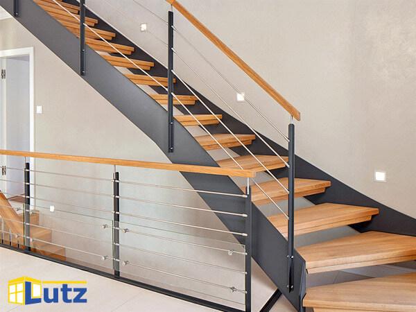 Handlauf Treppe treppen und handläufe aus holz fertigt lutz auf maß